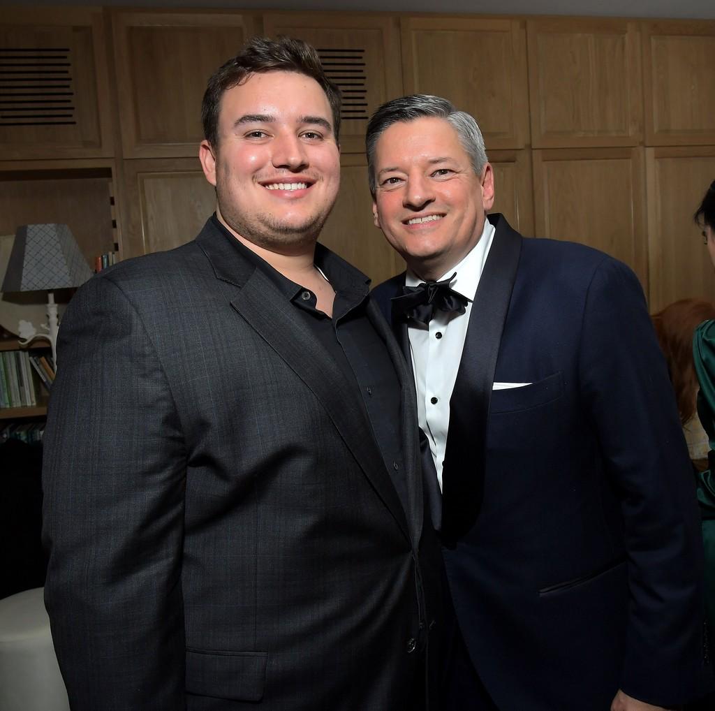 Photo of Ted Sarandos  & his  Son  Tony Sarandos