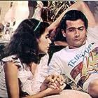 Andrea Beltrão and Lauro Corona in Corpo a Corpo (1984)