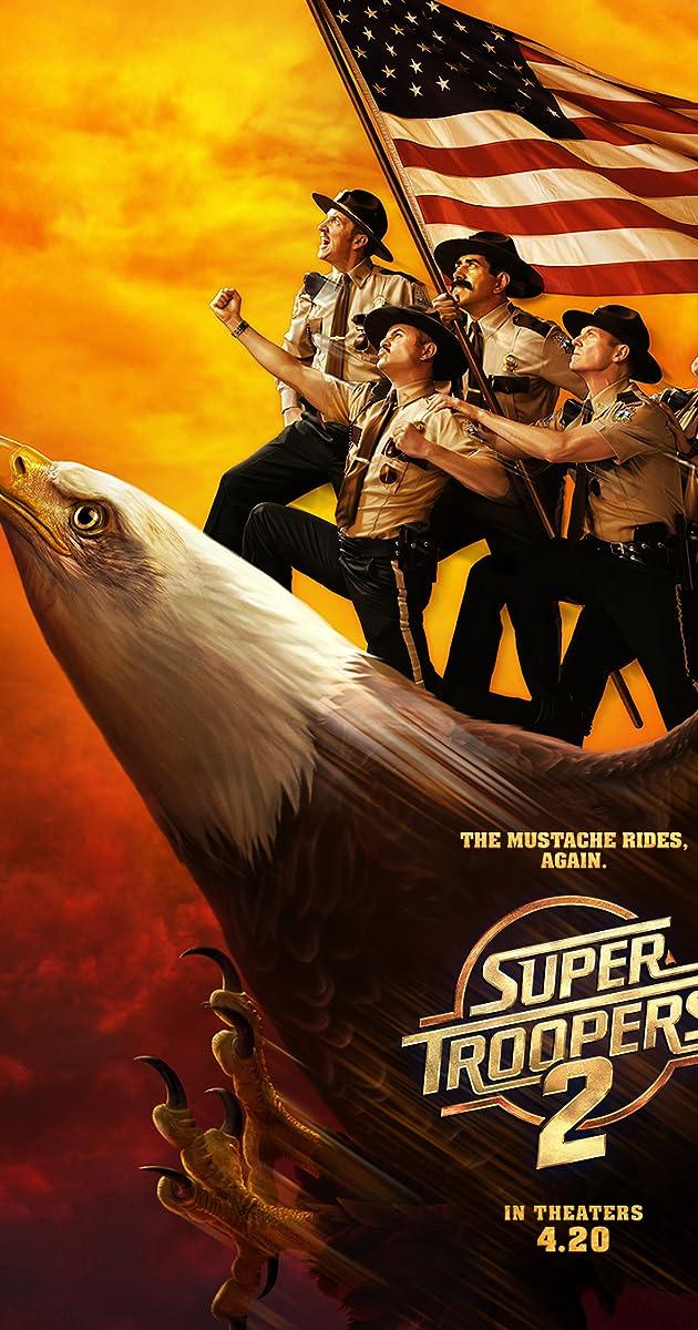 ŠAUNIAUSI POLICININKAI 2 (2018) / Super Troopers 2