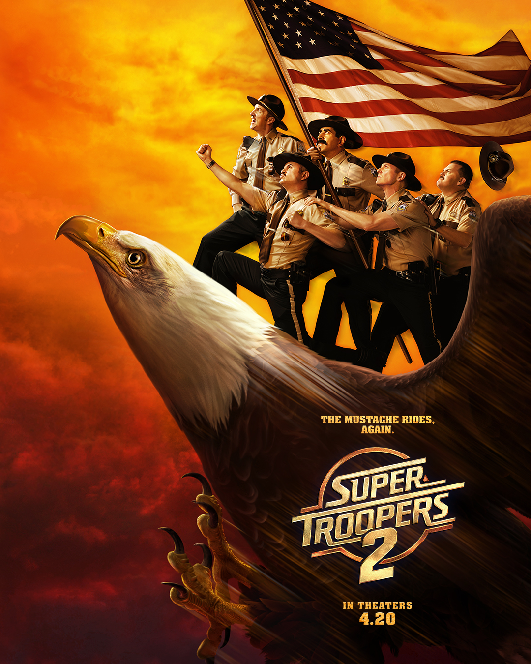 Super Troopers 2 (2018) BluRay 480p, 720p & 1080p