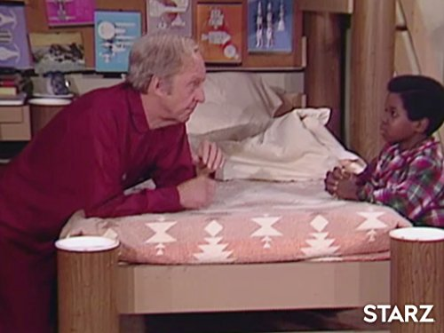 Conrad Bain and Gary Coleman in Diff'rent Strokes (1978)
