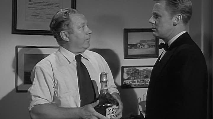Van Johnson and Edgar Buchanan in The Big Hangover (1950)