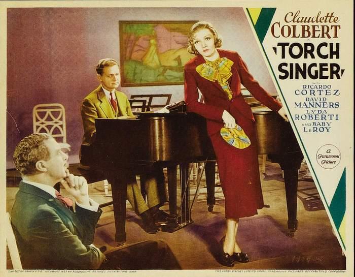 Claudette Colbert in Torch Singer (1933)