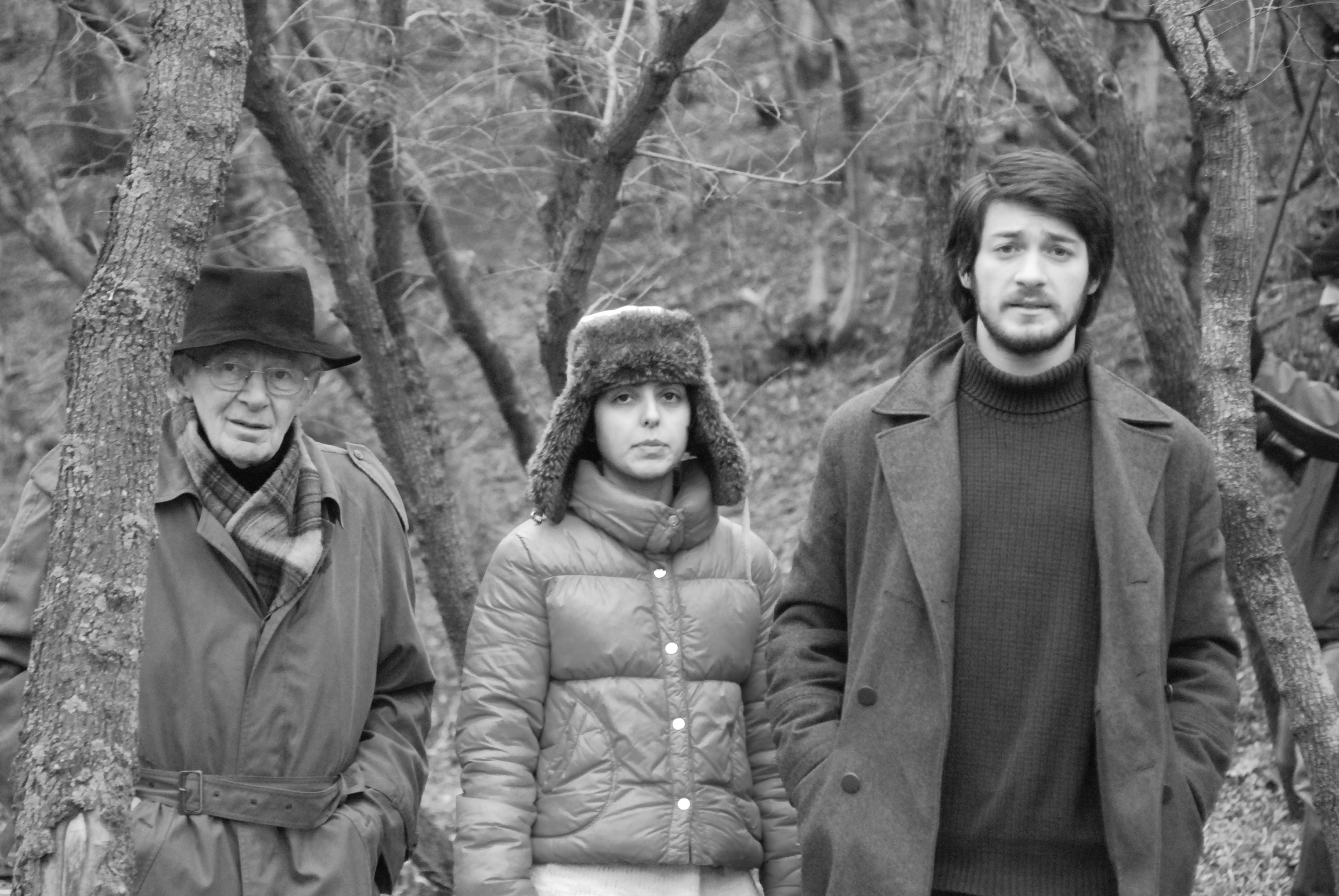 Dea Kulumbegashvili, Tornike Gogrichiani, and Koka Bziava in Le nid (2011)