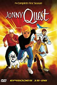 Tim Matheson, Danny Bravo, Don Messick, and Mike Road in Jonny Quest (1964)