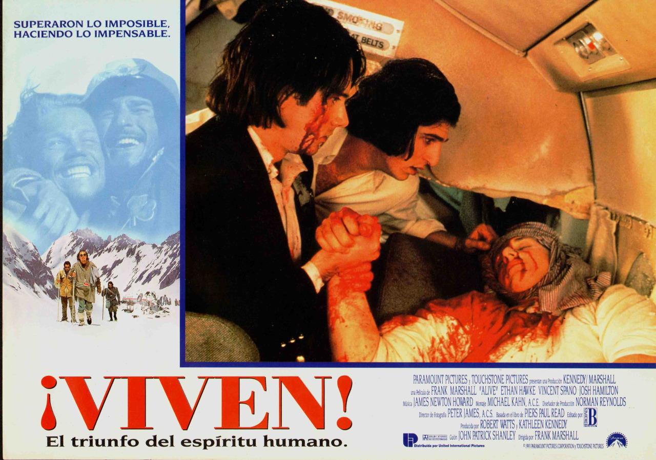 Josh Hamilton, David Kriegel, and Josh Lucas in Alive (1993)