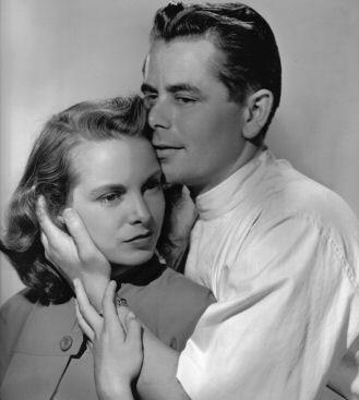 Glenn Ford and Janet Leigh in The Doctor and the Girl (1949)