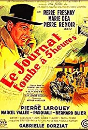Le journal tombe à cinq heures Poster
