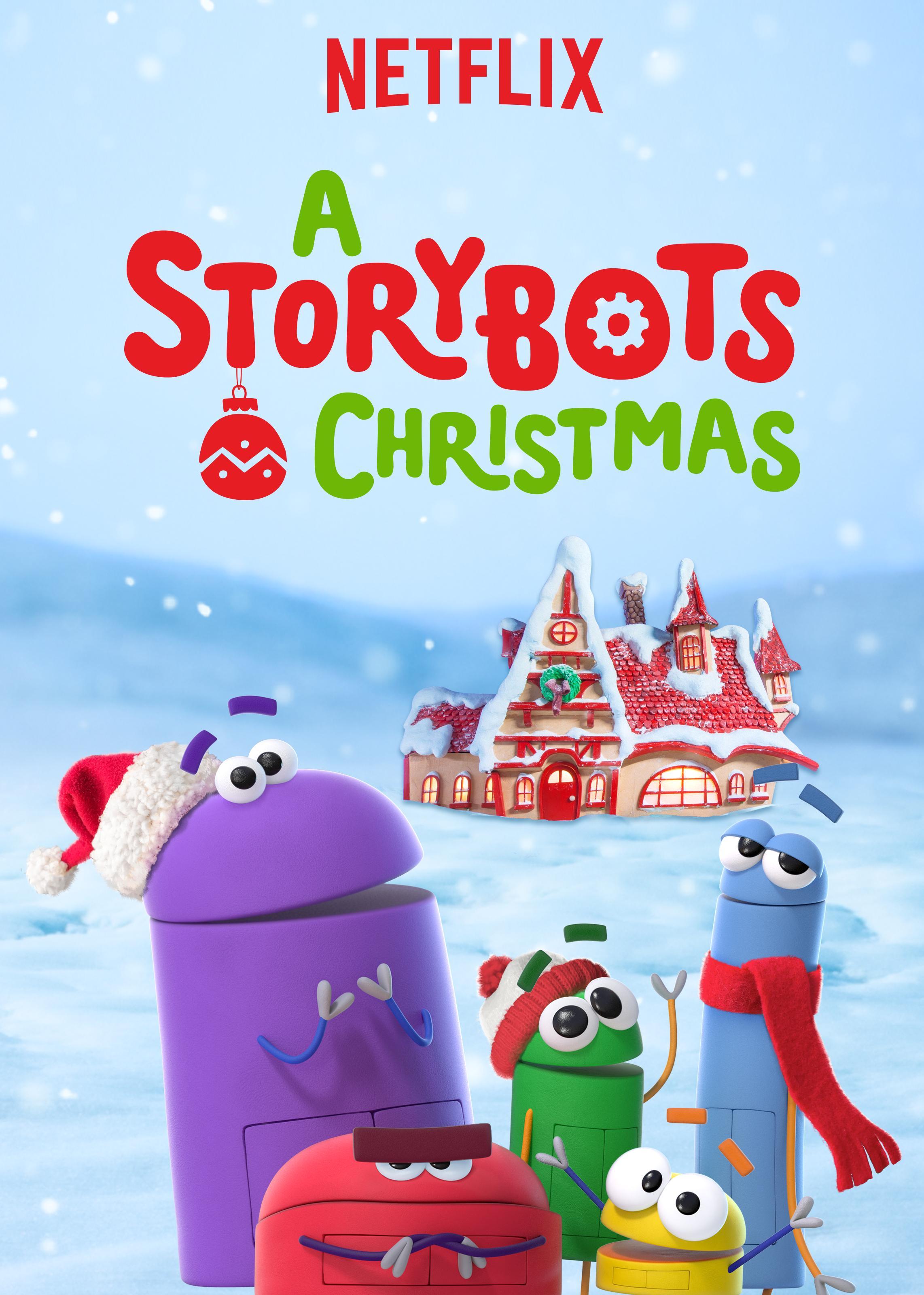 A StoryBots Christmas (2017) WEBRip 720p