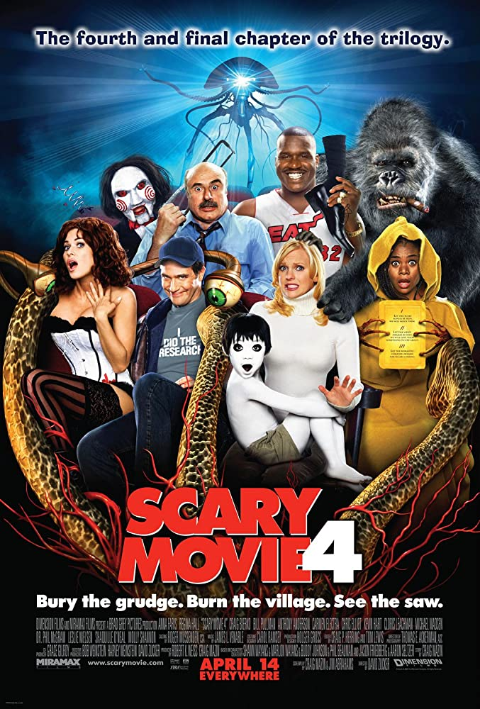 ძალიან საშიში კინო 4 / SCARY MOVIE 4