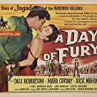 Mara Corday, Jock Mahoney, and Dale Robertson in A Day of Fury (1956)