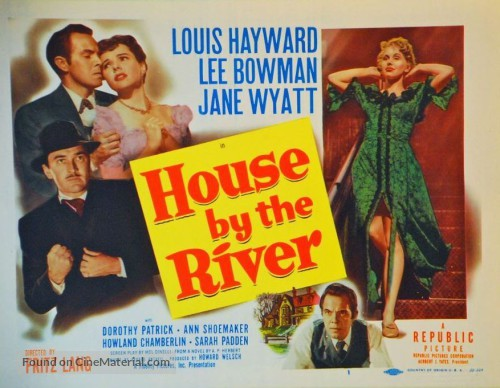 Image result for house by the river 1950