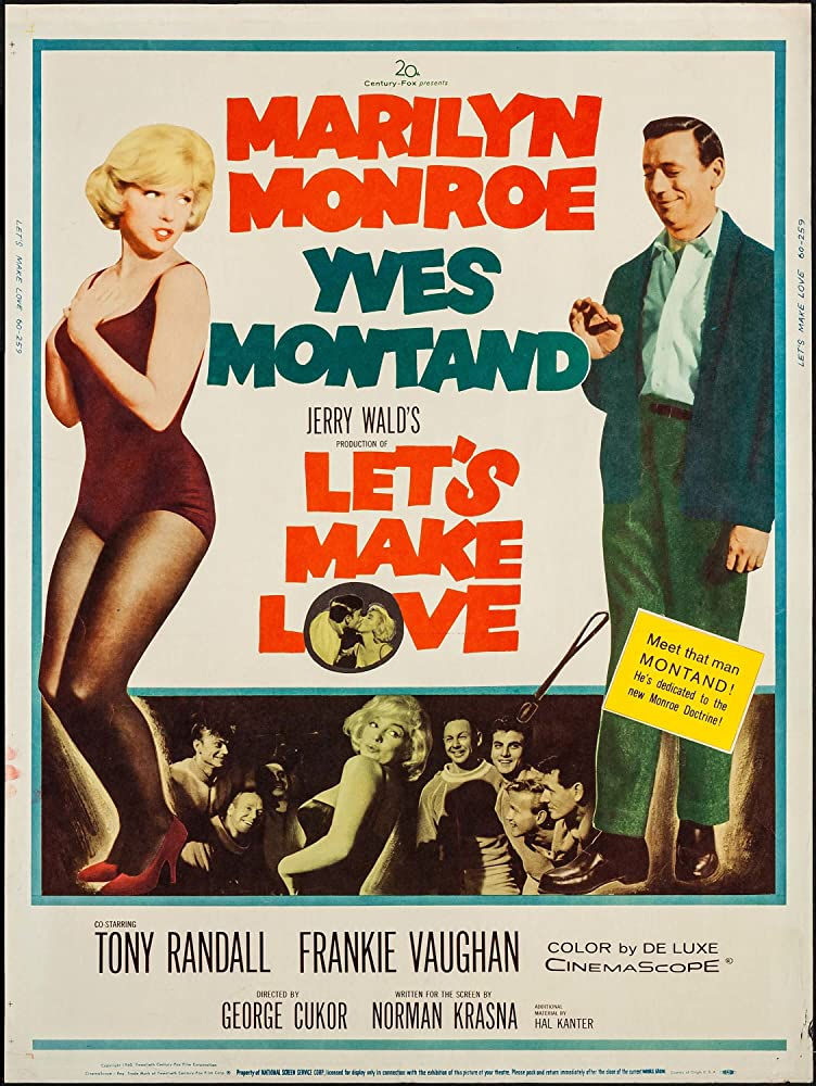 Marilyn Monroe and Yves Montand in Let's Make Love (1960)