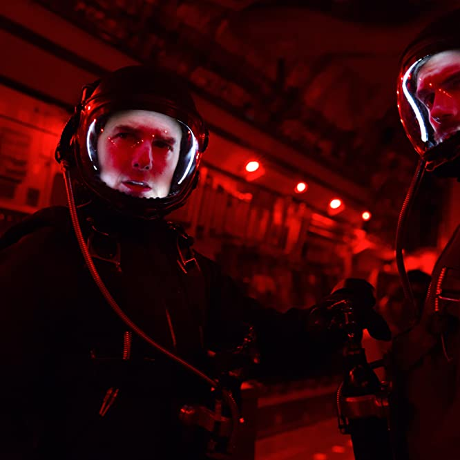 Tom Cruise and Henry Cavill in Mission: Impossible - Fallout (2018)