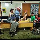 Alejandro Fiore, Andrea Pietra, Alejandra Mikulan, Sabrina Fogolini, Rodrigo Gosende, Jerónimo Troncoso, Paul Cruzatt, and Analía Gracia in Escuela Nocturna (2014)