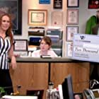 Jenna Fischer, Catherine Tate, Todd Aaron Brotze, and Ellie Kemper in The Office (2005)