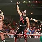 Marco Corleone, Super Nova, and Oscar Vasquez in Lucha Libre USA: Masked Warriors (2010)