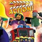 John Barrowman, John Hasler, Steven Kynman, Tegwen Tucker, and David Carling in Fireman Sam: Set for Action! (2018)