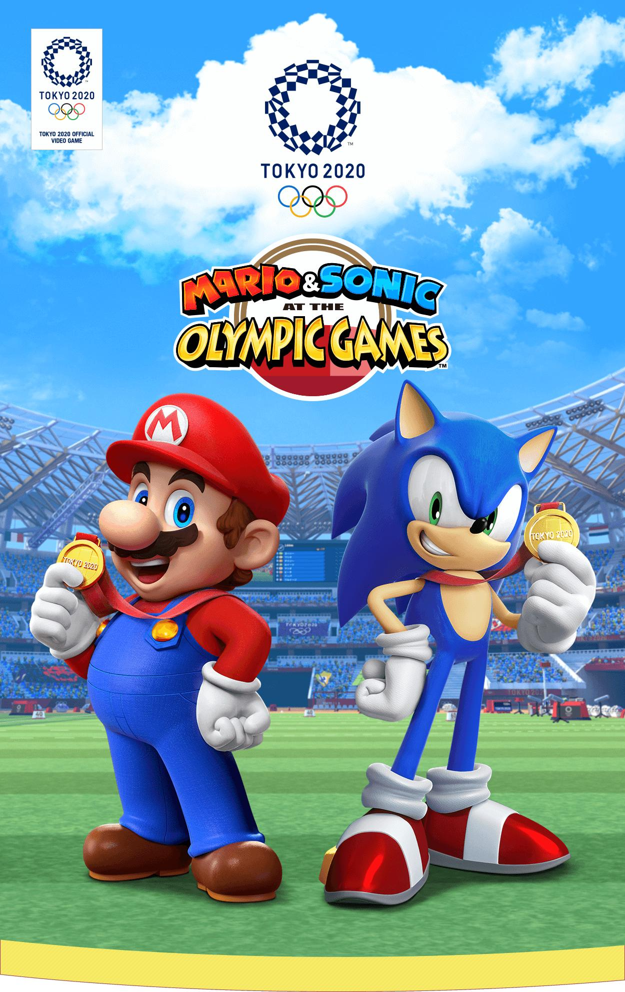 mario & sonic at the tokyo 2020 olympic games