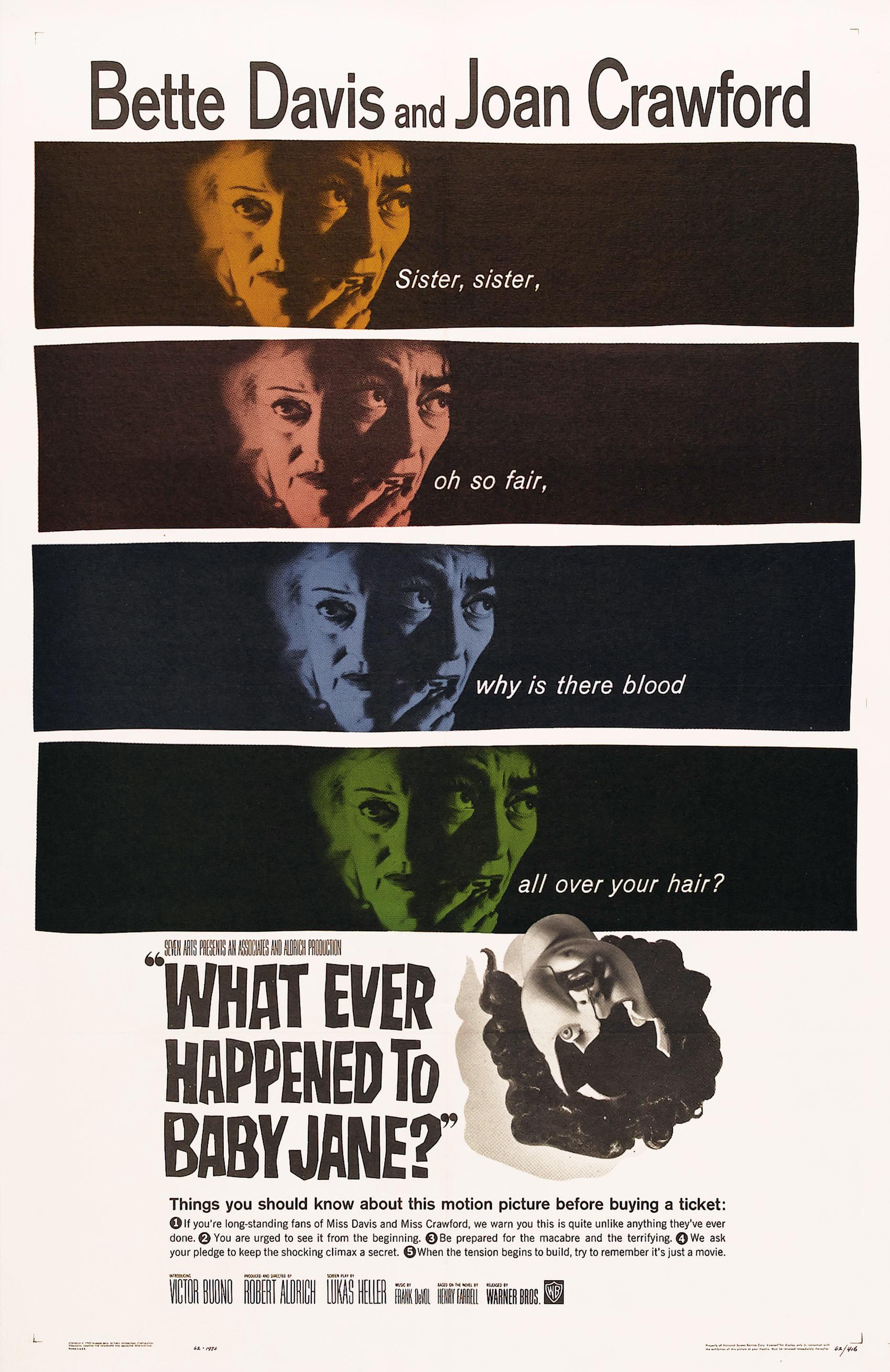 O que Terá Acontecido a Baby Jane? [Dub] – IMDB 8.1