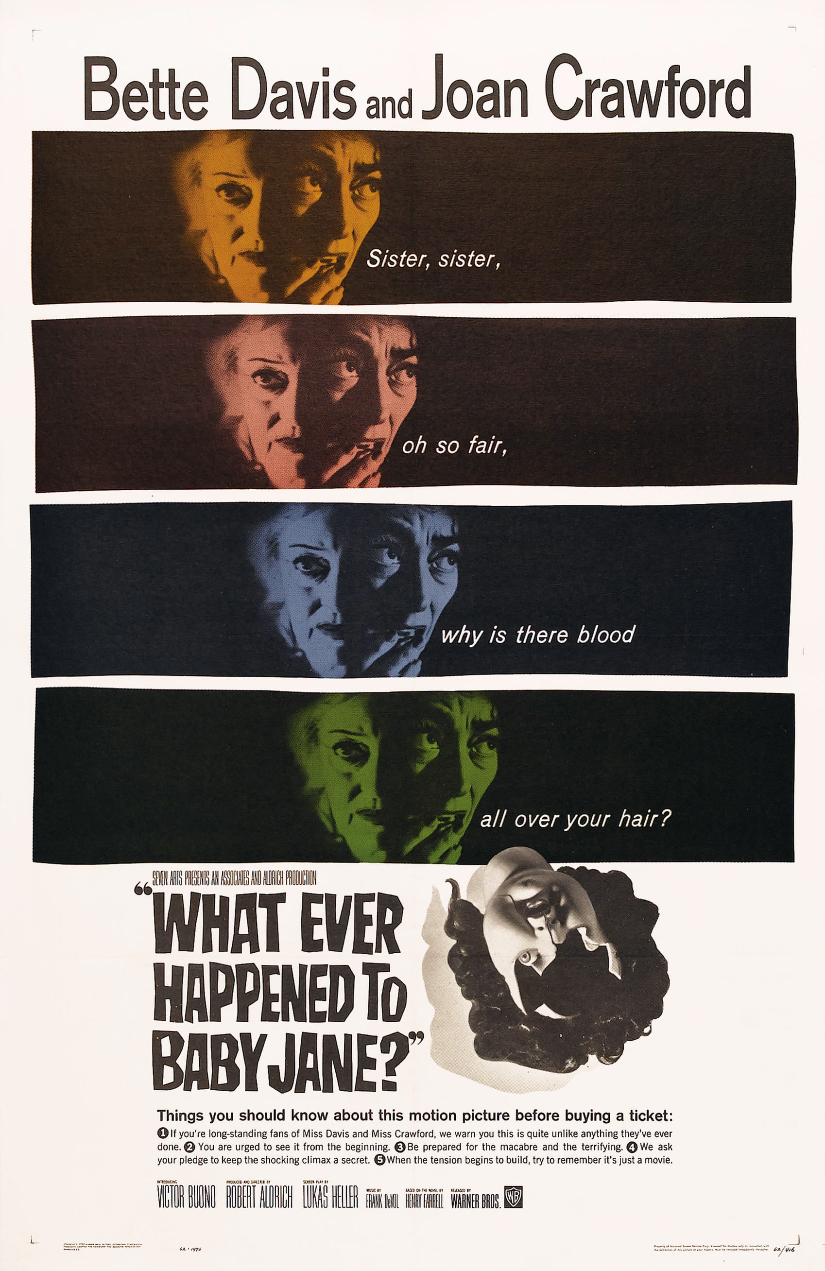 What Ever Happened to Baby Jane? (1962) BluRay 720p & 1080p