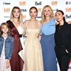 Heather Graham, Aisling Chin-Yee, Jodi Balfour, Sophie Nélisse, and Abigail Pniowsky at an event for The Rest of Us (2019)