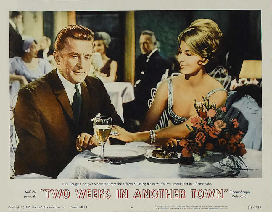 Kirk Douglas and Cyd Charisse in Two Weeks in Another Town (1962)