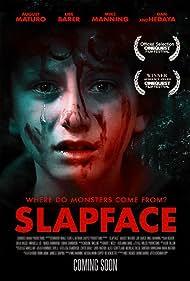 Dan Hedaya, Libe Barer, Mike Manning, and August Maturo in Slapface (2021)