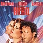Geena Davis, Dustin Hoffman, and Andy Garcia in Hero (1992)
