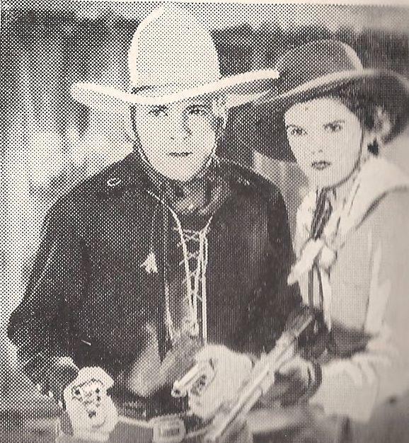 Buck Jones and Marla Shelton in The Phantom Rider (1936)