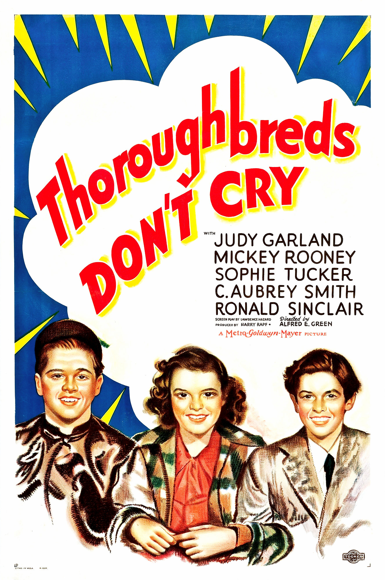 Thoroughbreds Don't Cry (1937) - IMDb