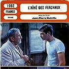 Jean-Paul Belmondo and Charles Vanel in L'aîné des Ferchaux (1963)
