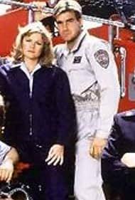 Lorne Greene and Andrew Stevens in Code Red (1981)