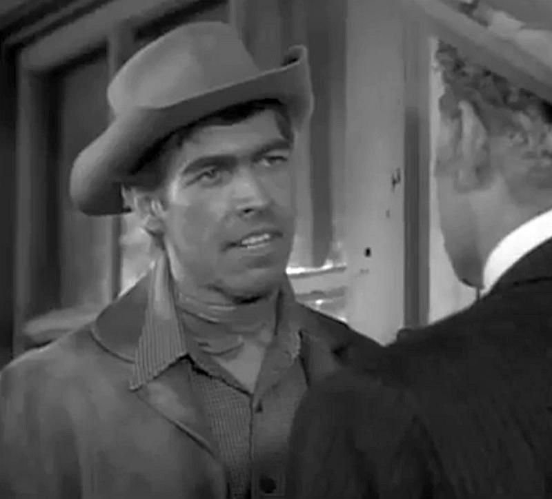 James Coburn and Danny Thomas in Zane Grey Theater (1956)