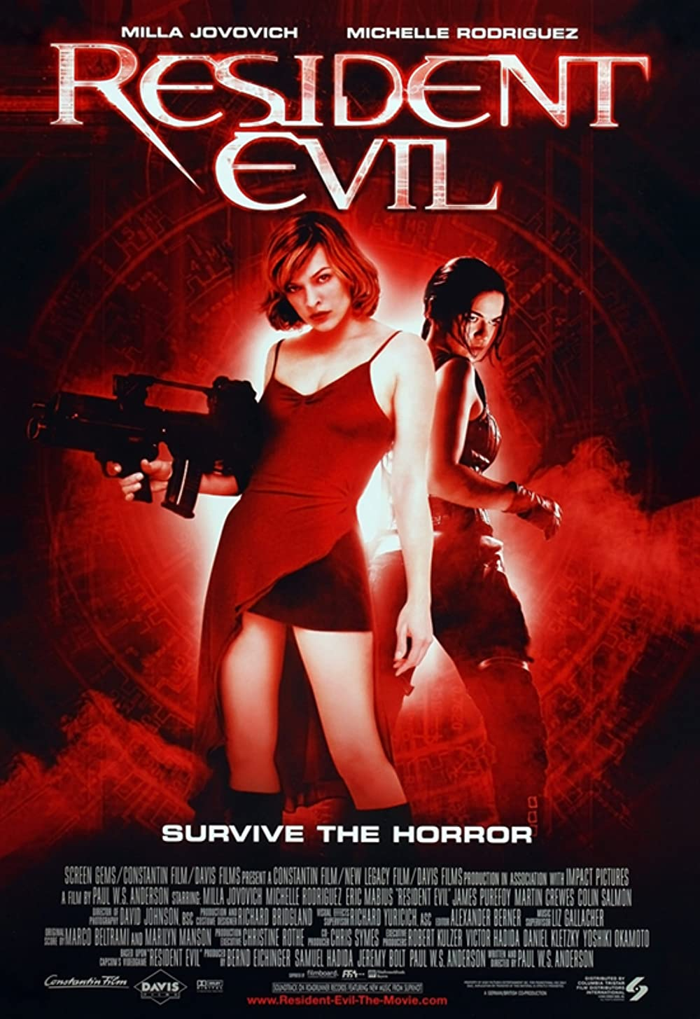 Resident Evil 2002 Hindi Dual Audio 1080p BluRay ESubs 1.5GB Download