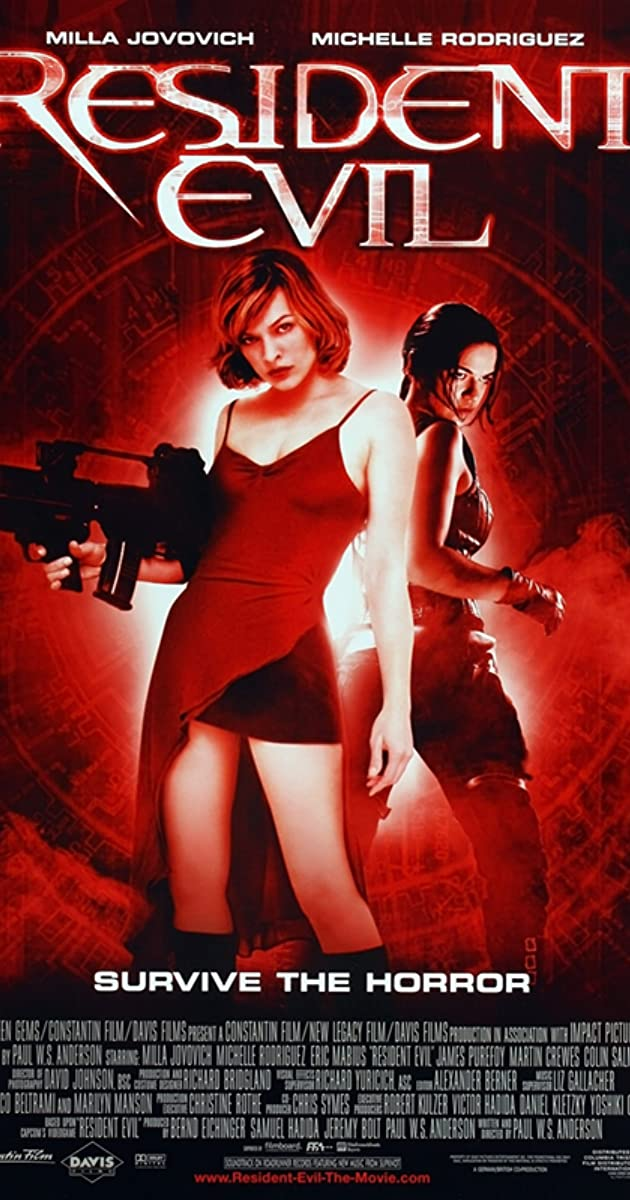 Watch Full HD Movie Resident Evil (2002)