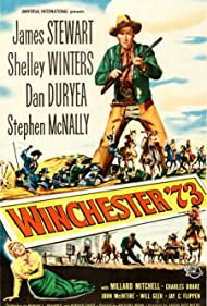 James Stewart and Shelley Winters in Winchester '73 (1950)