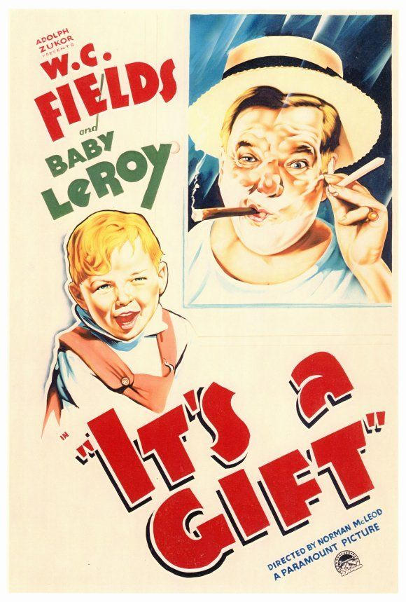 W.C. Fields and Baby LeRoy in It's a Gift (1934)