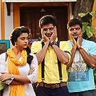 Sathish, Sivakarthikeyan, and Keerthy Suresh in Remo (2016)