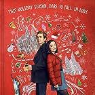 Austin Abrams and Midori Francis in Dash & Lily (2020)
