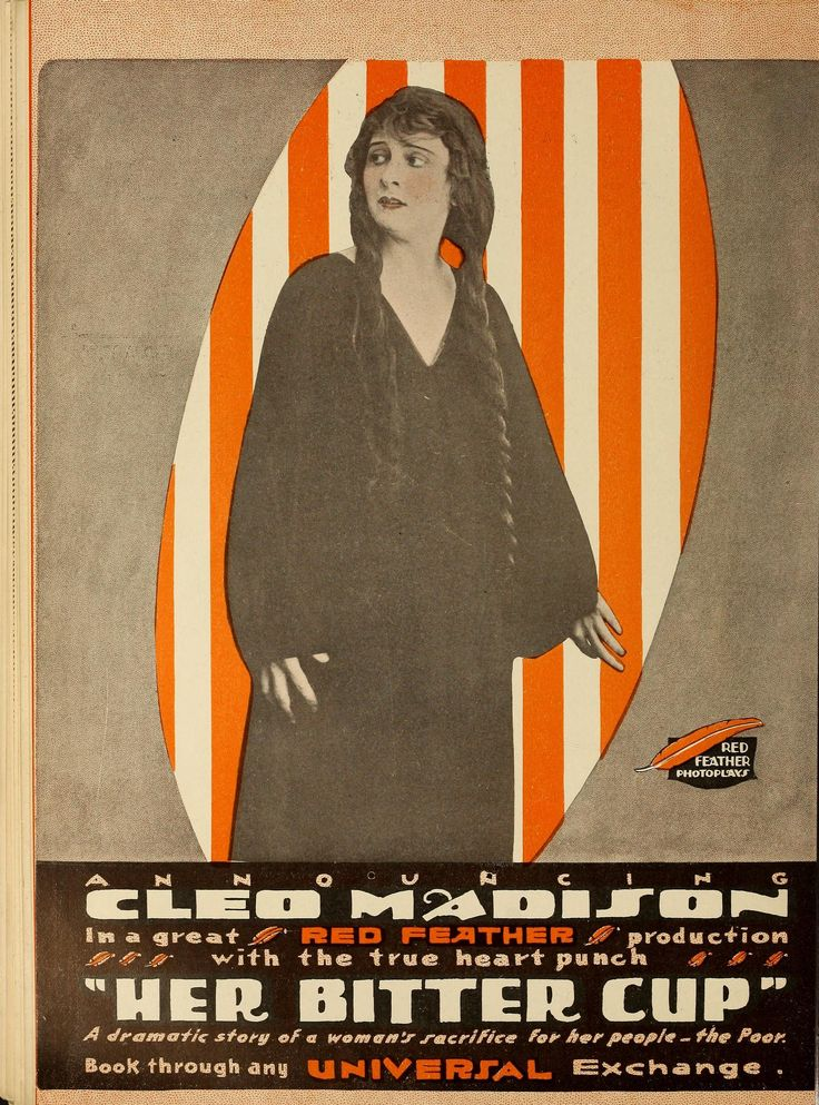 Cleo Madison in Her Bitter Cup (1916)
