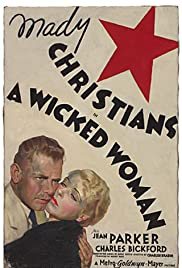 A Wicked Woman(1934) Poster - Movie Forum, Cast, Reviews