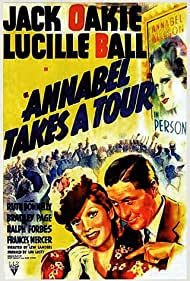 Lucille Ball and Jack Oakie in Annabel Takes a Tour (1938)