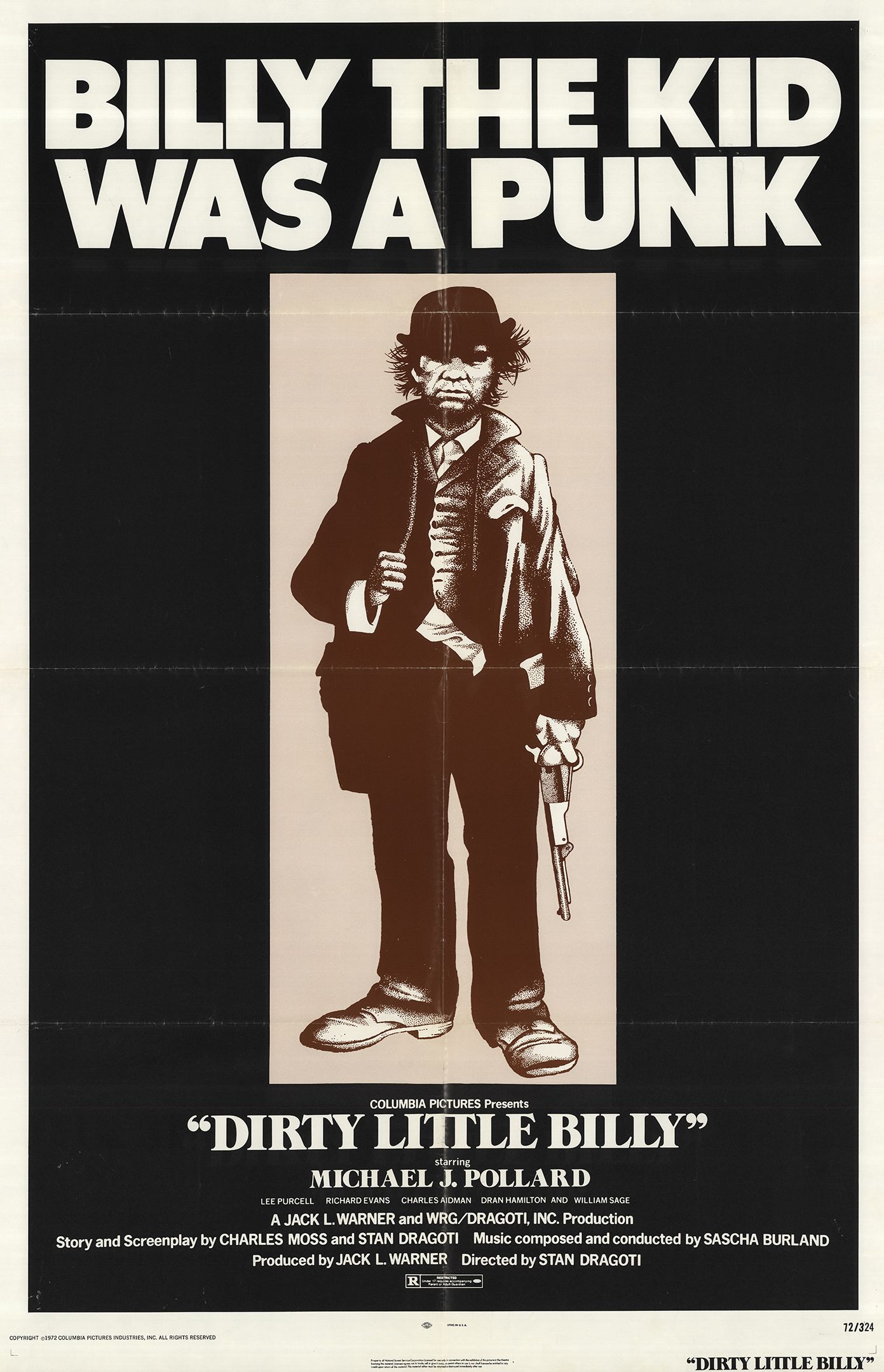 Image result for Dirty Little Billy film poster