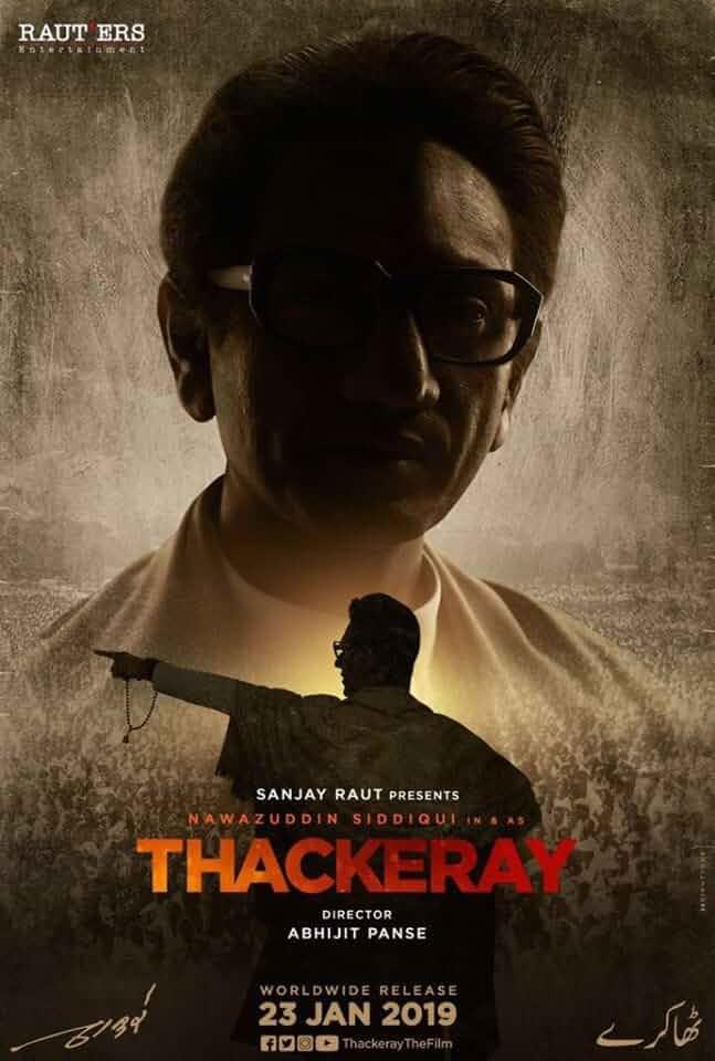 Thackeray (2019) Hindi PreDVDRip