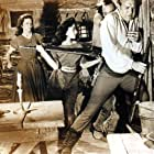 Rita Moreno, Cathy O'Donnell, Carlos Rivas, and Forrest Tucker in The Deerslayer (1957)