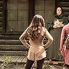 Tara Karsian, Brittany Curran, and Summer Bishil in The Magicians (2015)