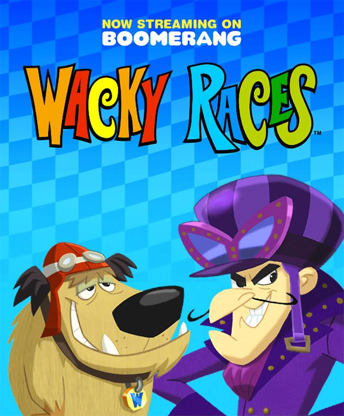 Billy West and Peter Woodward in Wacky Races (2017)