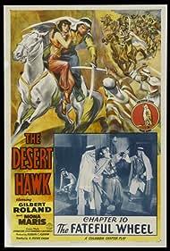 Mona Maris, Kermit Maynard, Jack O'Shea, and Gilbert Roland in The Desert Hawk (1944)
