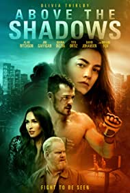 Jim Gaffigan, Megan Fox, Olivia Thirlby, and Alan Ritchson in Above the Shadows (2019)